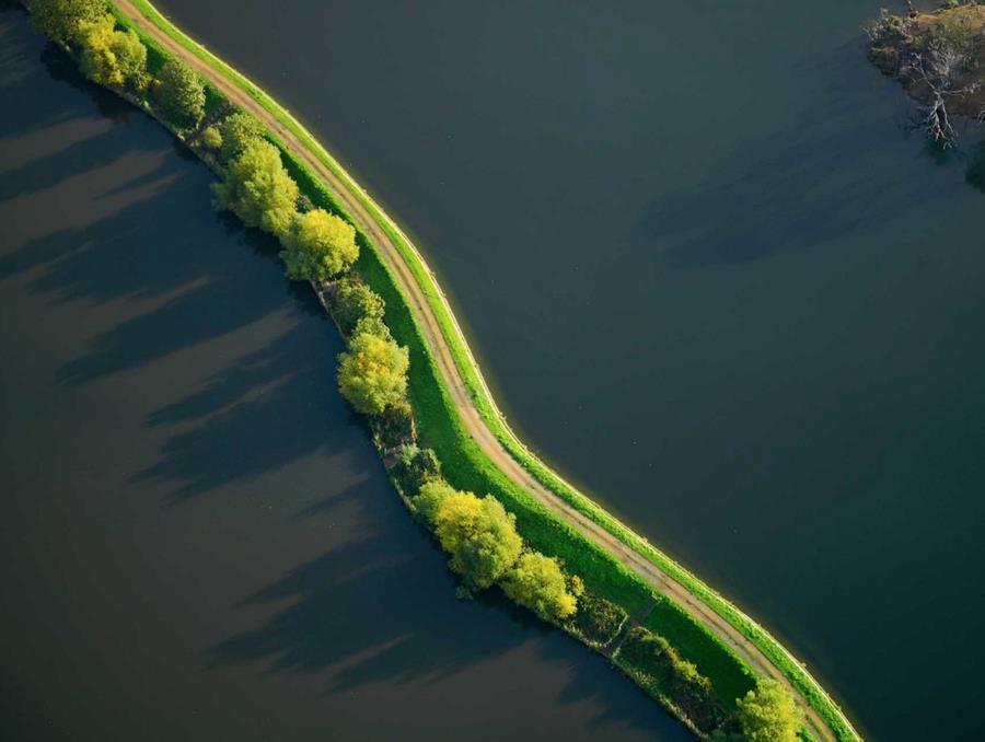 Jason Hawkes Aerial shot