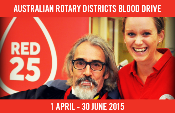 Australian Rotary Districts Blood Drive