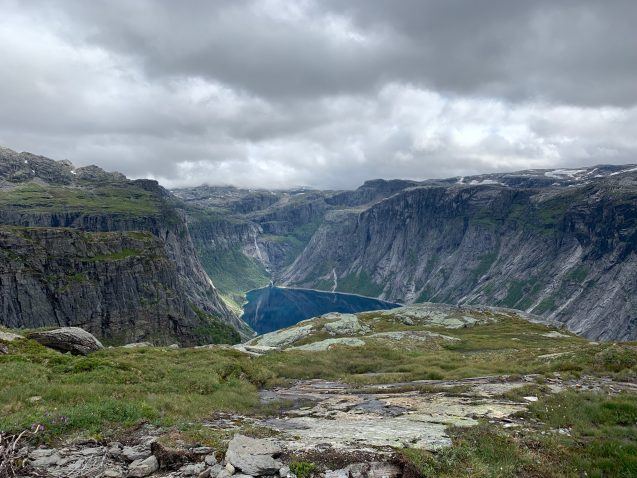 Views from Trolltunga, Norway. Photo: Maria Dombrov