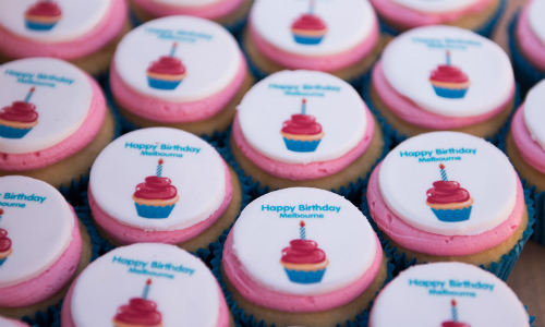 Free Melbourne Day cupcakes