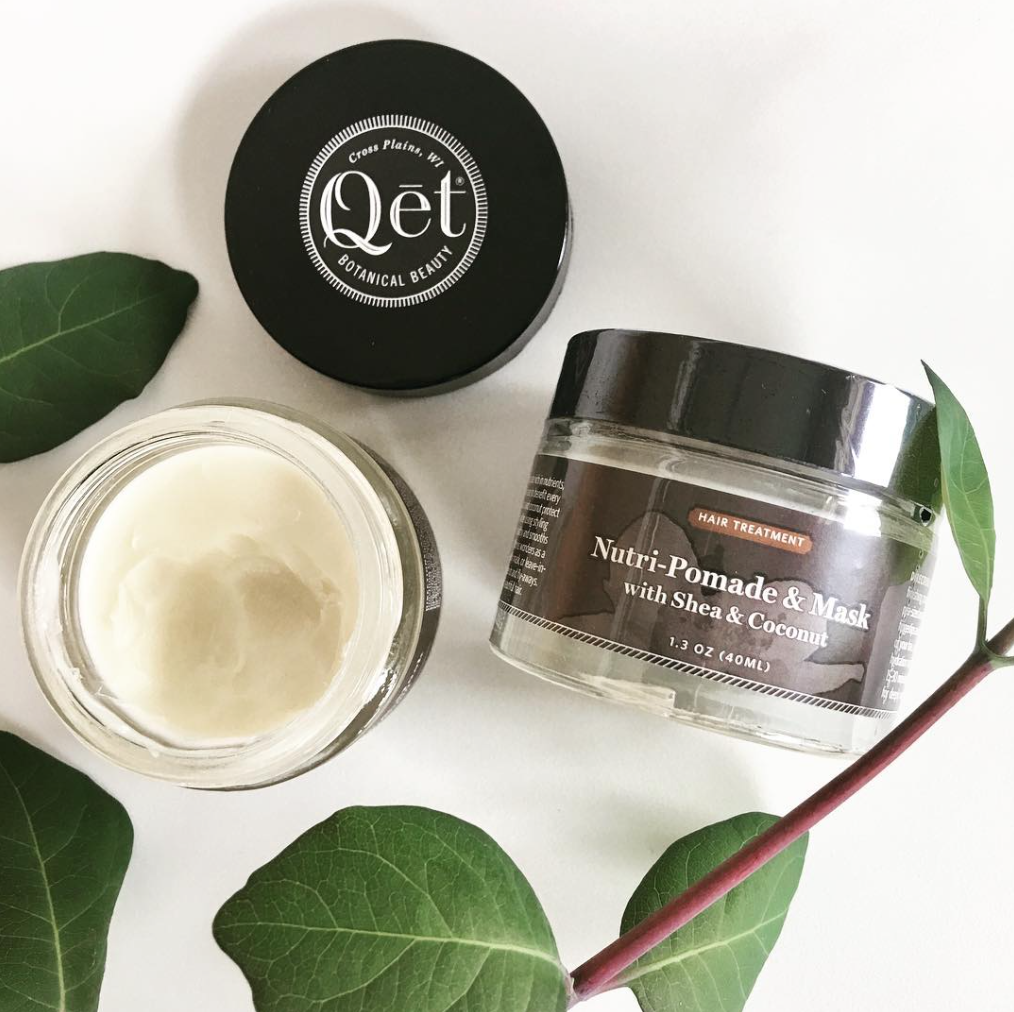 Qēt Botanicals Nutri-Pomade & Mask with shea & coconut