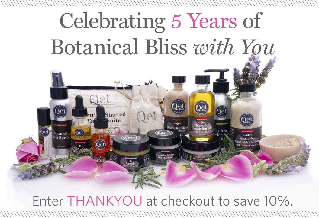 Qēt Botanicals celebrating 5-year anniversary