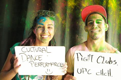 Picture from Holi Festival