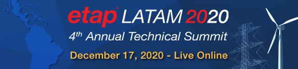 ETAP LATAM Technical Summit 2020