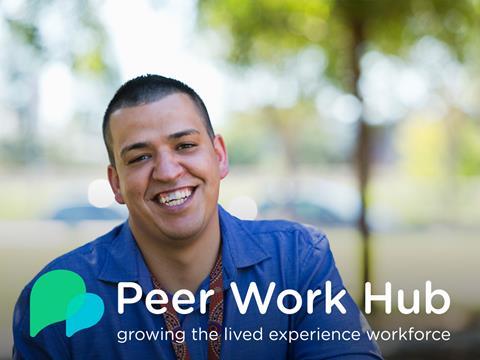 Peer Work Hub promotional image