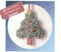 Hexi Christmas Ornament kit by Lina Patchwork