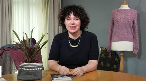 Crochet for left handers with Sarah Hatton