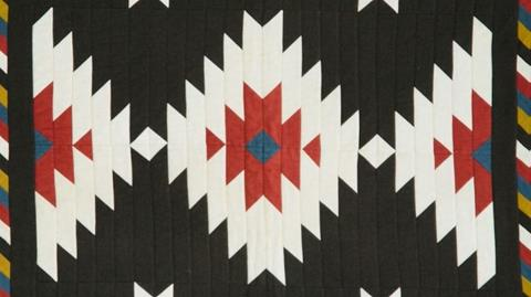 Navajo Blanket Quilt - Centre Medallion with Anne Baxter