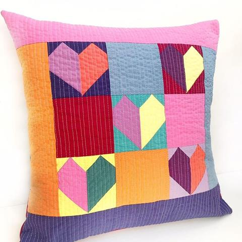 Sweet Heart Pillow Pack 'n Pattern designed by Sarah Ashford