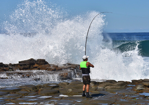 Lifesavers Welcome Rock Fishing Announcement