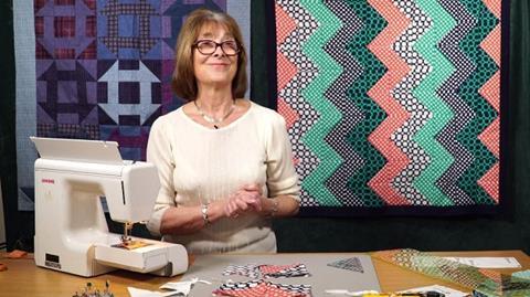 Tesselated Zig Zag with Valerie Nesbitt