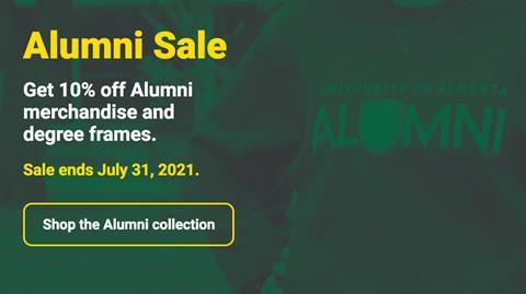 Alumni sale graphic