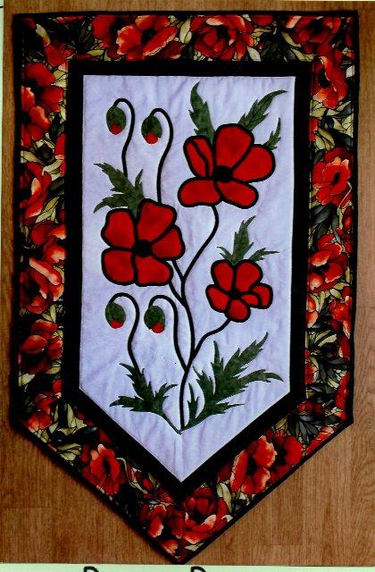 Poppy Power designed by The Stitch Witch