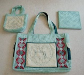 Vintage Sewing Machine Work Bag