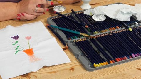 Inktense pens