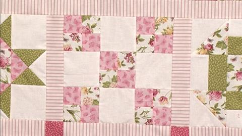 9 Patch and variations - Block 2 of Your First Sampler Quilt with Valerie Nesbitt