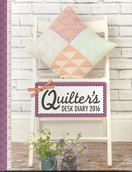 Quilter's Desk Diary 2016