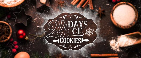 24 Days of Cookies Returns.