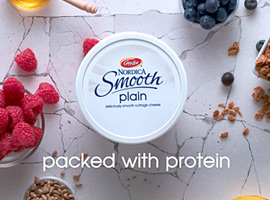 Picture of Nordica Smooth Plain - packed with protein