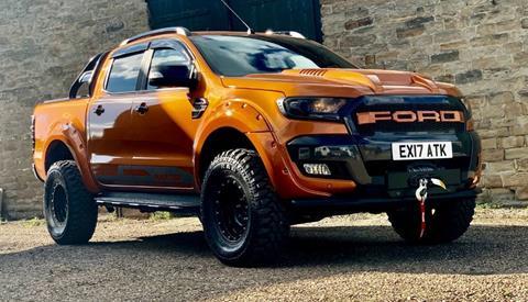 2017Ford Ranger Wildtrack Orange