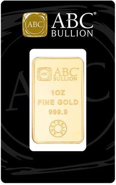1oz ABC Bullion Minted Tablet Gold