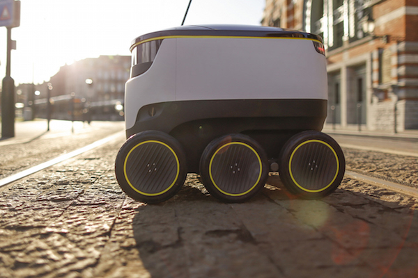 STARSHIP TECHNOLOGIES' SELF-DRIVING ROBOT DELIVERS YOUR BEER, YES WE ARE NOT JOKING