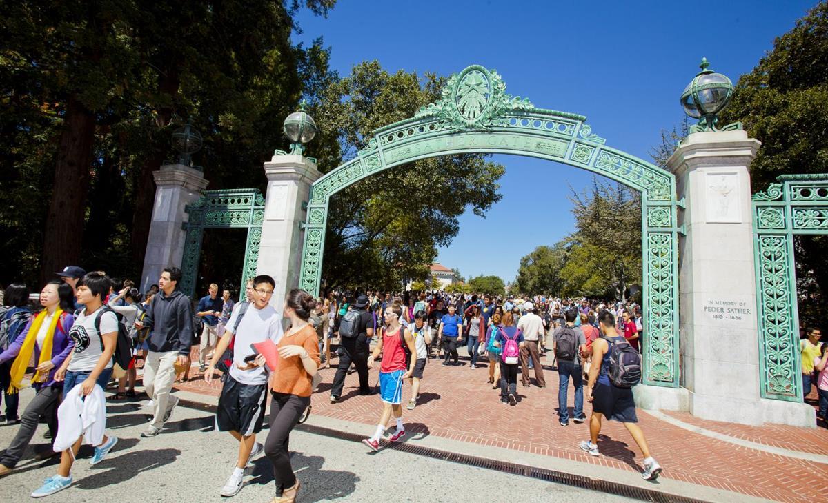 South Gate of U.C. Berkeley University