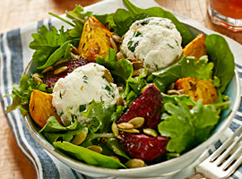 Picture of: Roasted Beets with Herbed Ricotta