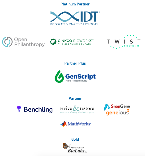 iGEM 2020 Sponsors