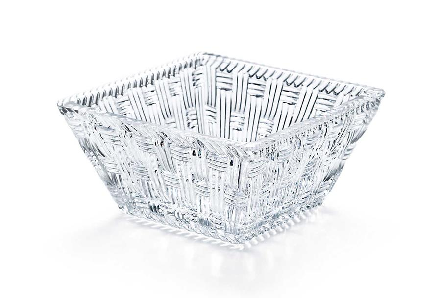 Tiffany & Co.'s small crystal bowls