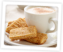 Photo of Sweet & Salty Shortbread Mounds and Coffee