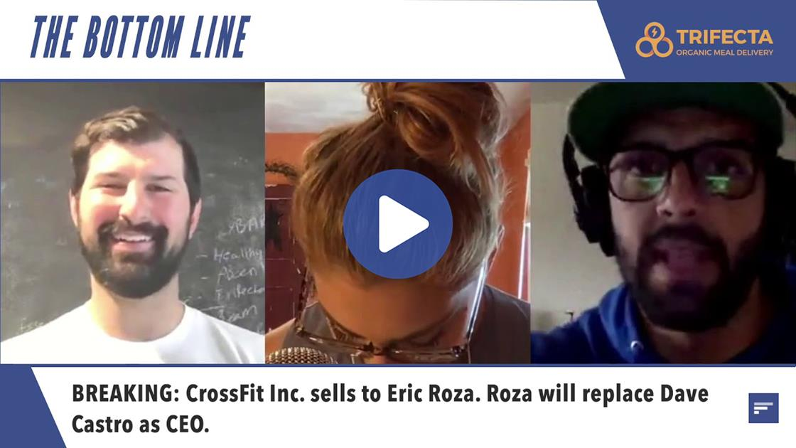 Video: CrossFit Sells, Eric Roza to Take Over as CEO | The Bottom Line