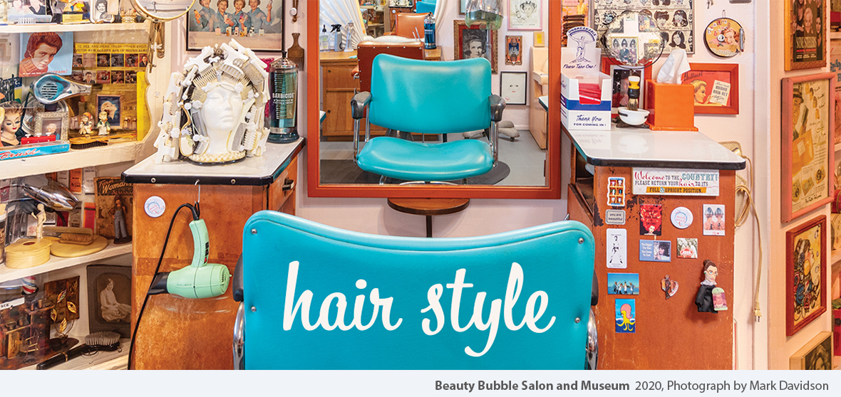 Beauty Bubble Salon and Museum  2020, Photograph by Mark Davidson