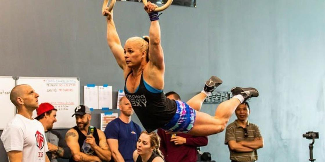 CrossFit Games Qualifier Jolaine Undershute: No Time to Celebrate