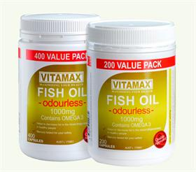 Vitamax fish oil overstocks