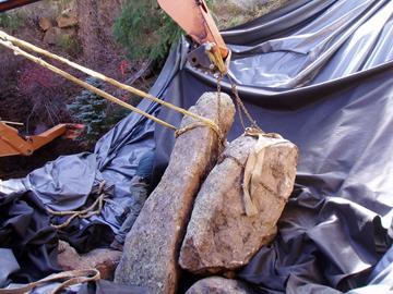 Moving a boulder #2