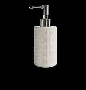 Hellenic Soap Pump Silver