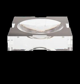 Carter Bowl Acrylic Silver