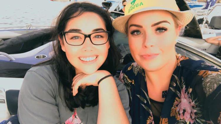 Krystal Turkington and Isobelle Elizabeth