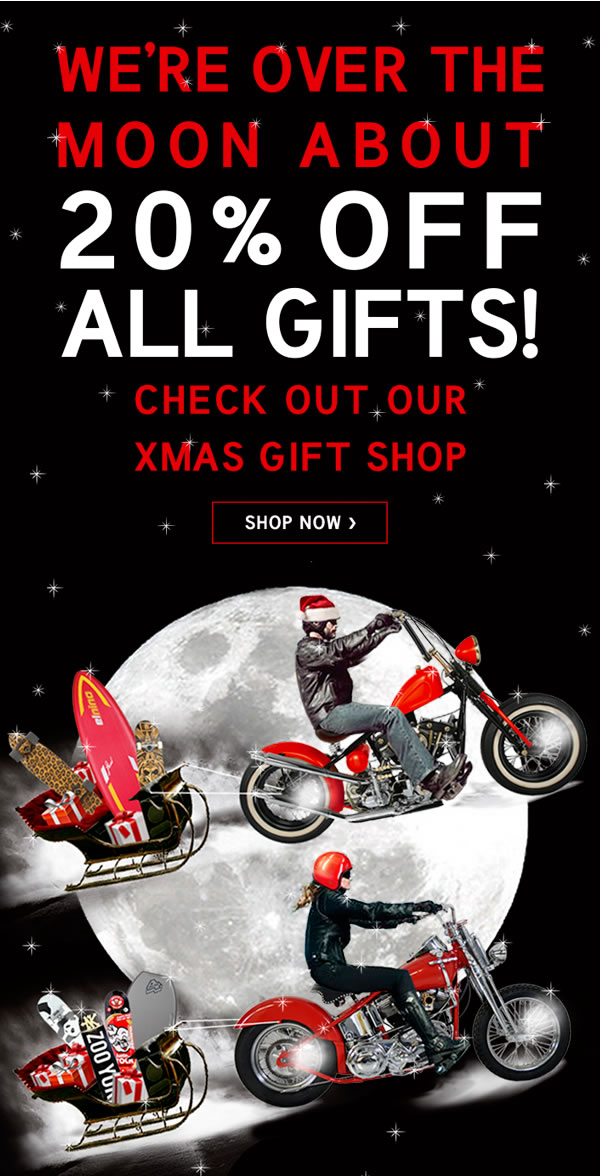Save 20% OFF Christmas Gifts Plus Up to 60% OFF Mid Season Sale + Free Delivery @ Box13.com.au