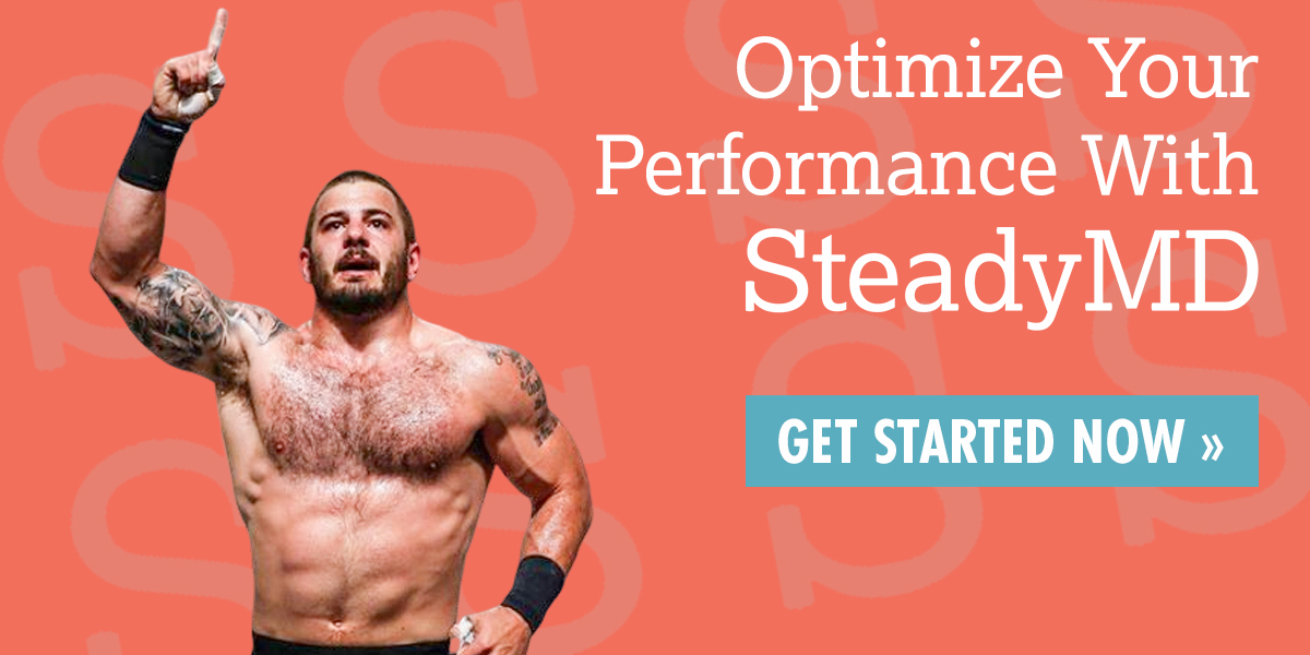 Mat Fraser trusts SteadyMD with his health!