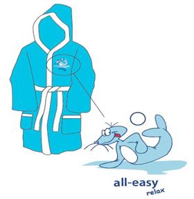 Overstocks - childrens bathrobe