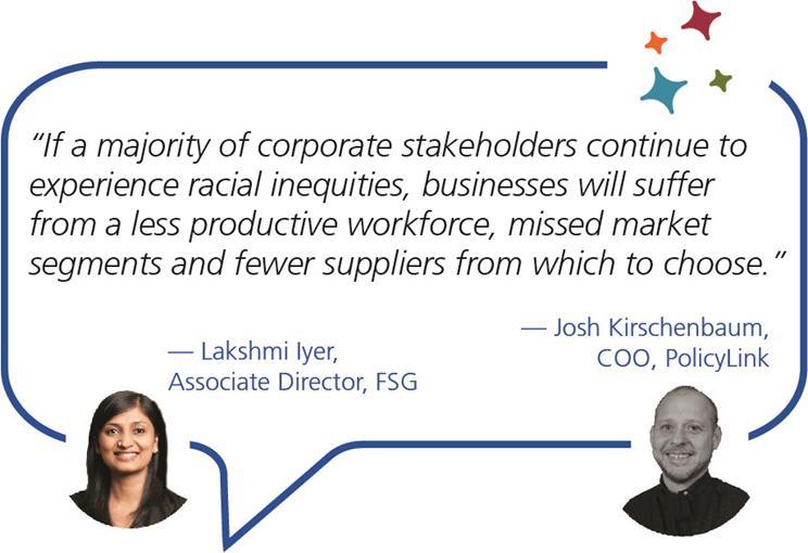 Lakshmi Iyer and Josh Kirschenbaum