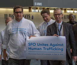 SFO Unites Against Human Trafficking