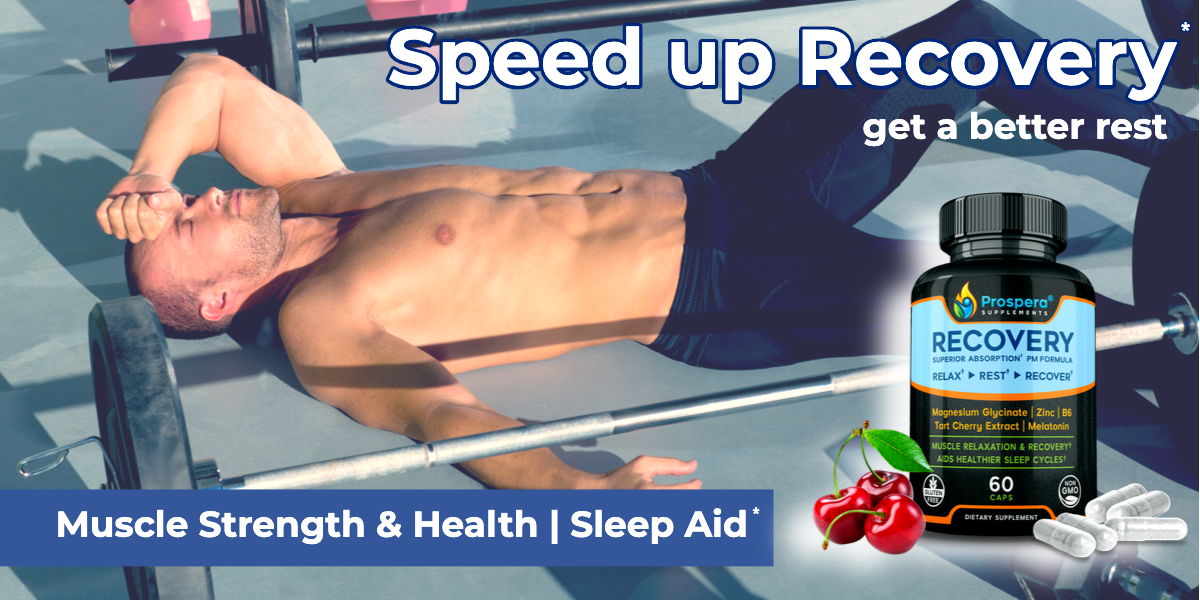 Boost Muscle Health & Performance. Improve the Quality of your Sleep.
