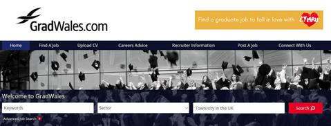 GradWales.com Website