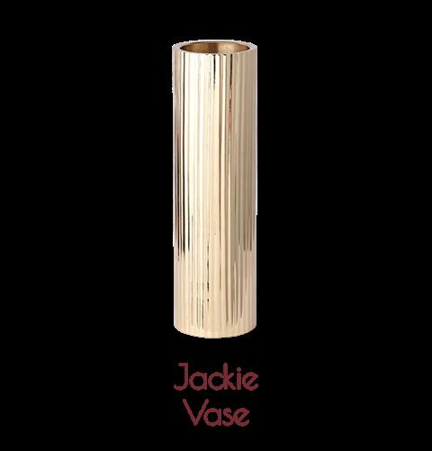 Jackie Vase Brass