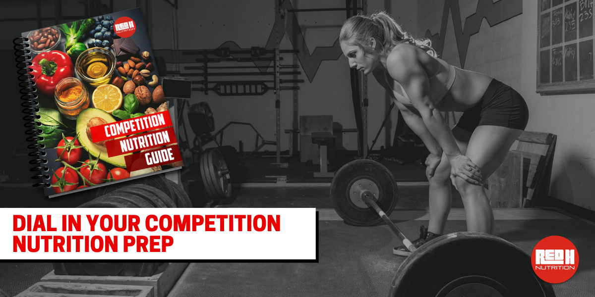 Own The Podium ? - Grab The FREE Competition Nutrition Guide