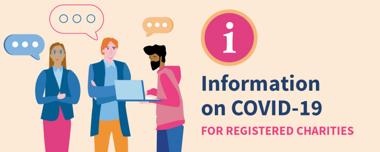Information on COVID-19 for registered charities