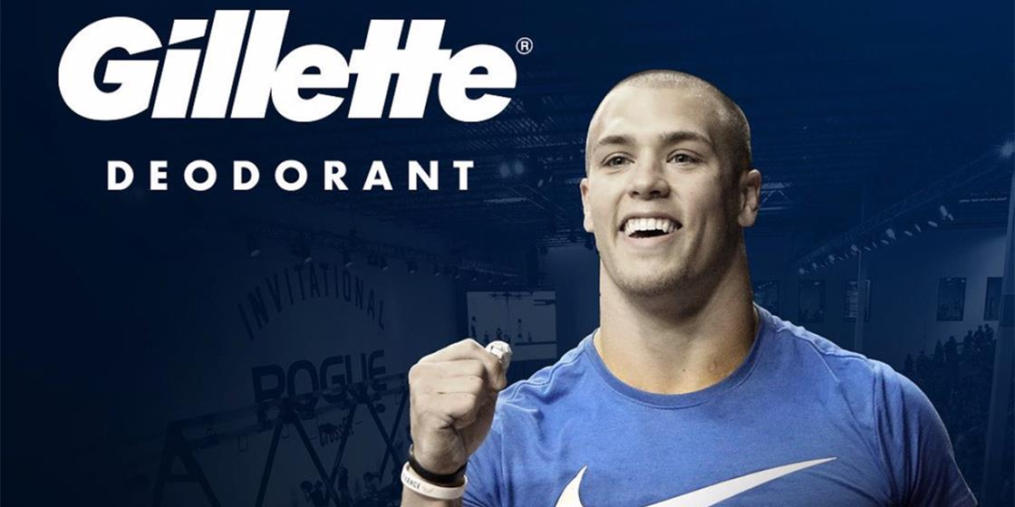 Gillette Partners with Top CrossFitters for National Campaign